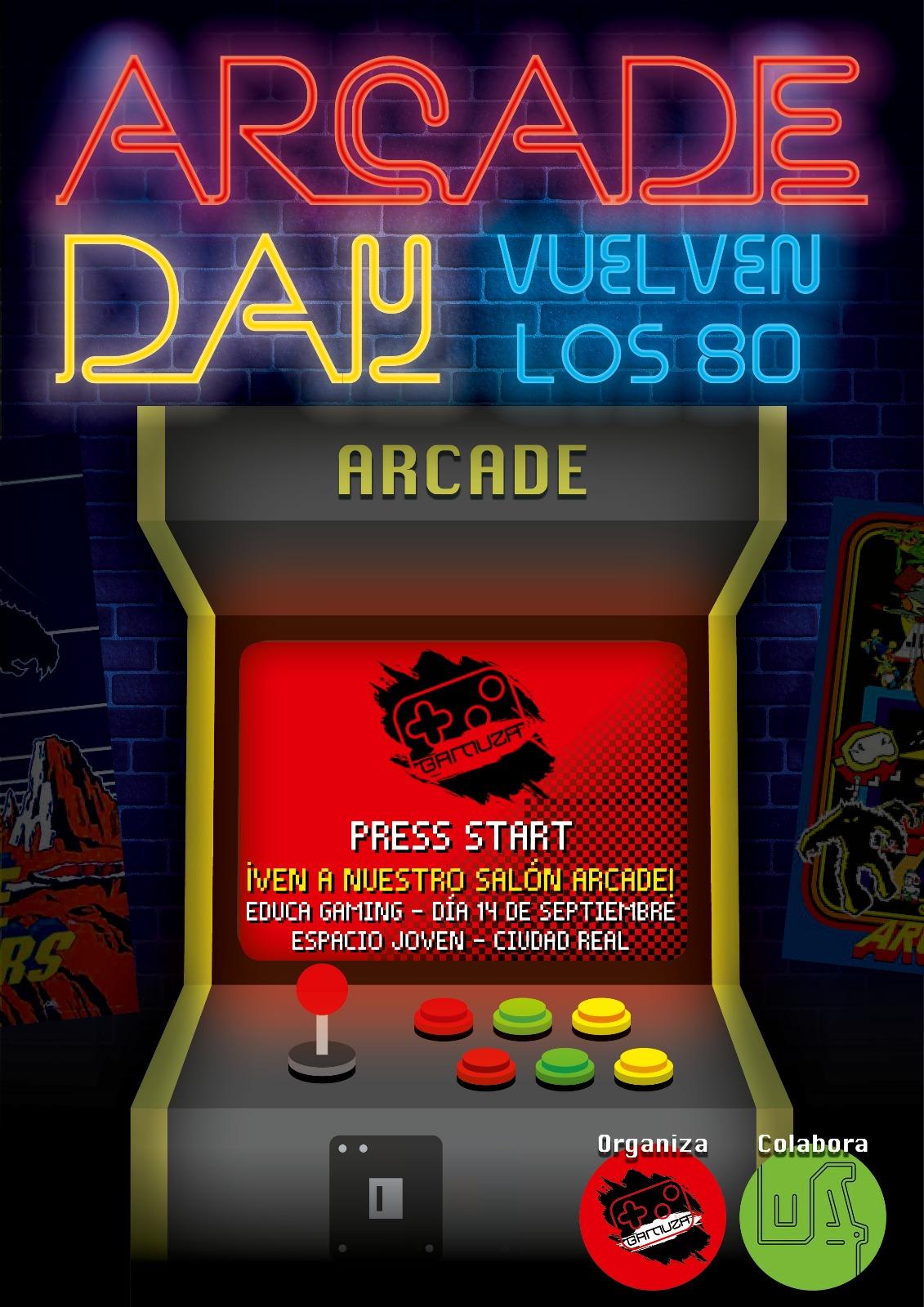 Arcade day gamuza