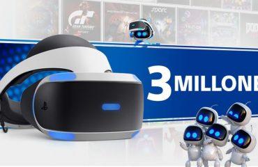 Las PlayStation VR alcanzan los tres millones de unidades vendidas