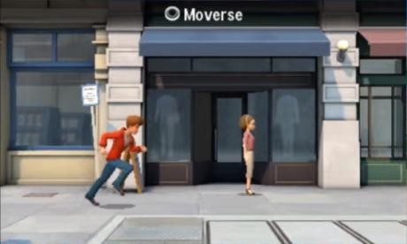 indicación de moverse en detective pikachu