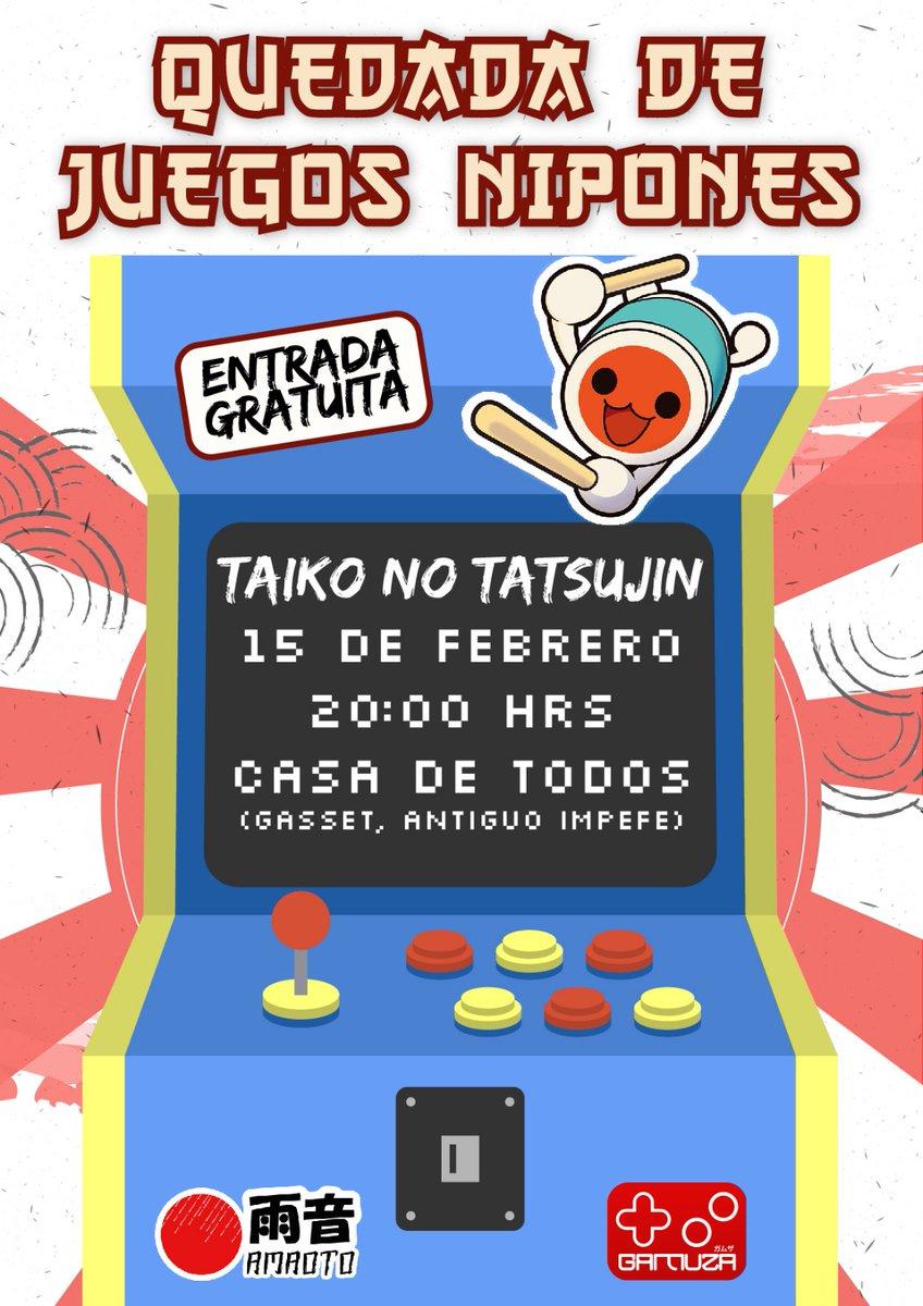 Quedada de juegos nipones: Taiko No Tatsujin