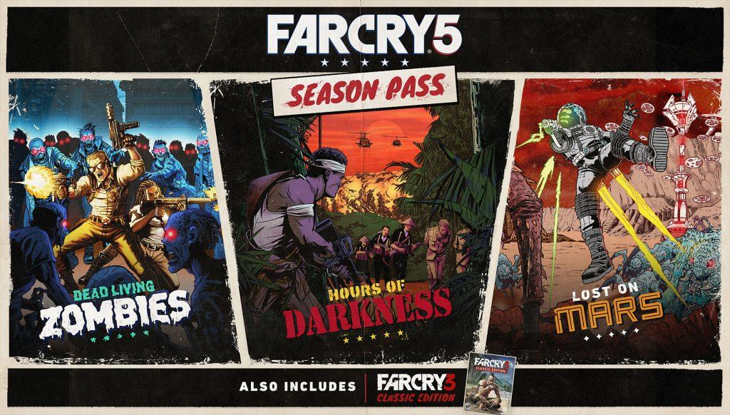 Far cry 5 pase de temporada
