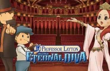 Impresión: El profesor Layton y la Diva Eterna