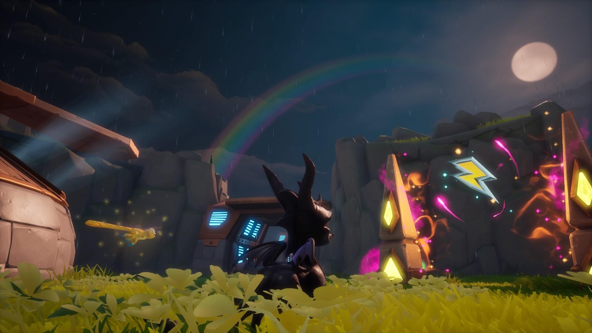 """Spyro en Huracanado - Juego: """"Spyro2: en busca de los talismanes"""" de Reignited Trilogy"""