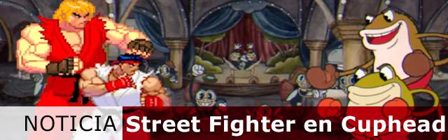 Street figther en cuphead