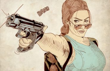 Hace 20 años, Lara Croft me animó a dibujar un cómic