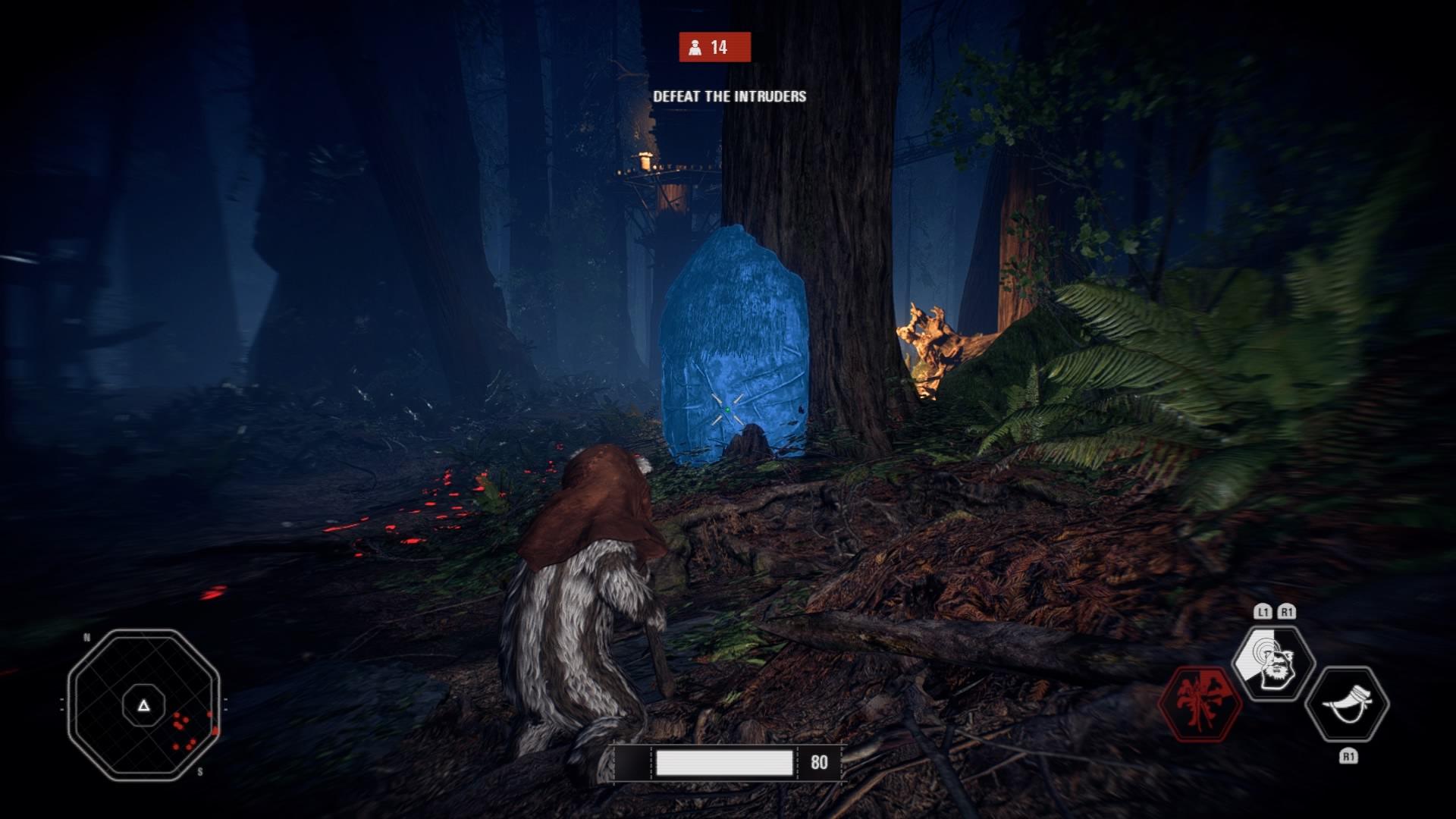 ewoks a la caza 2