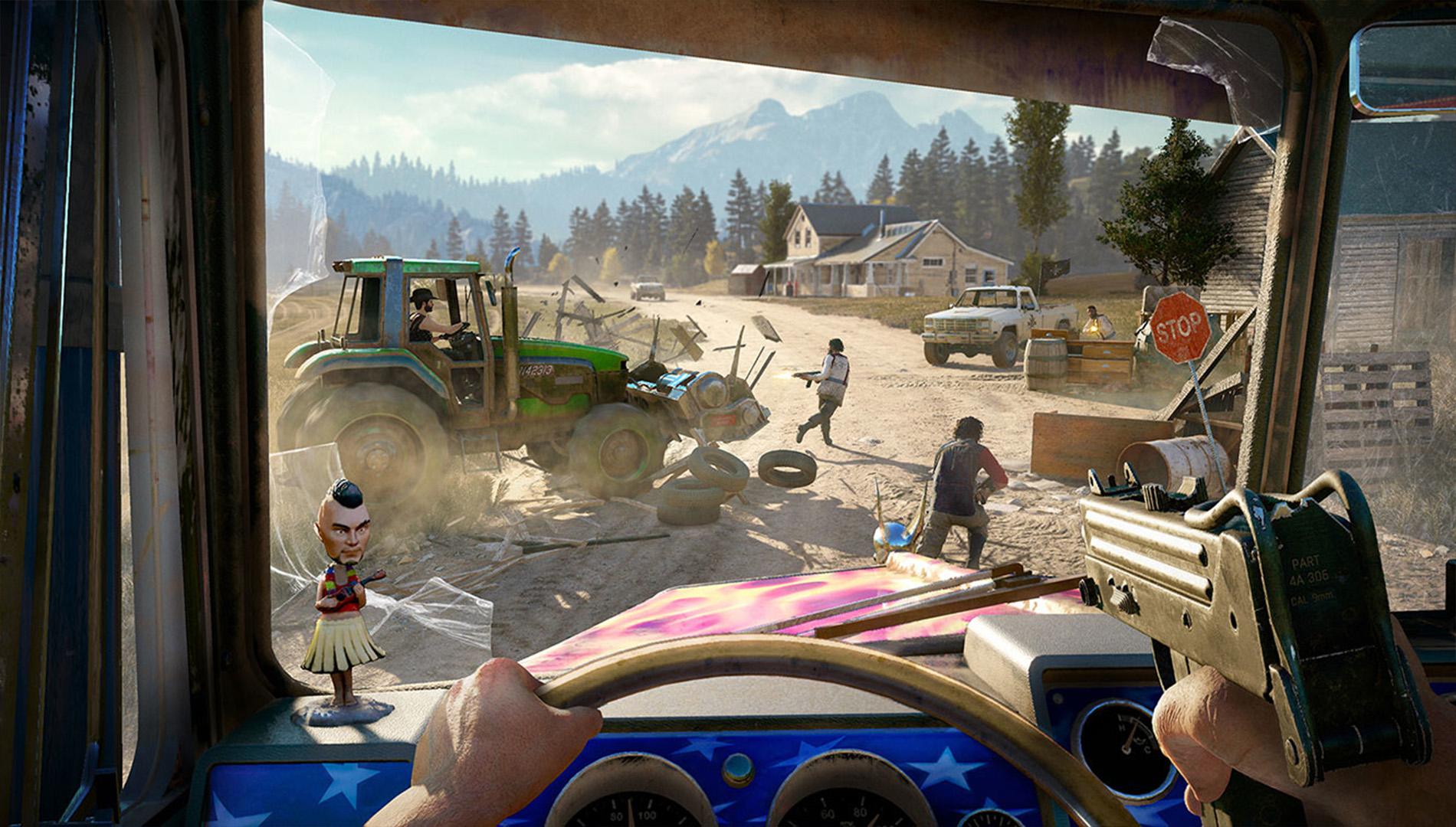 El DLC de Far Cry 5 añadirá zombies, arañas extraterrestres y un viaje en el tiempo a Vietnam.