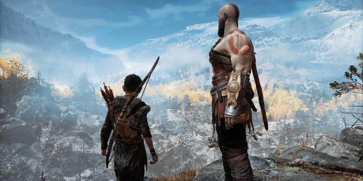 Captura de pantalla de God of War (2018) para PS4.
