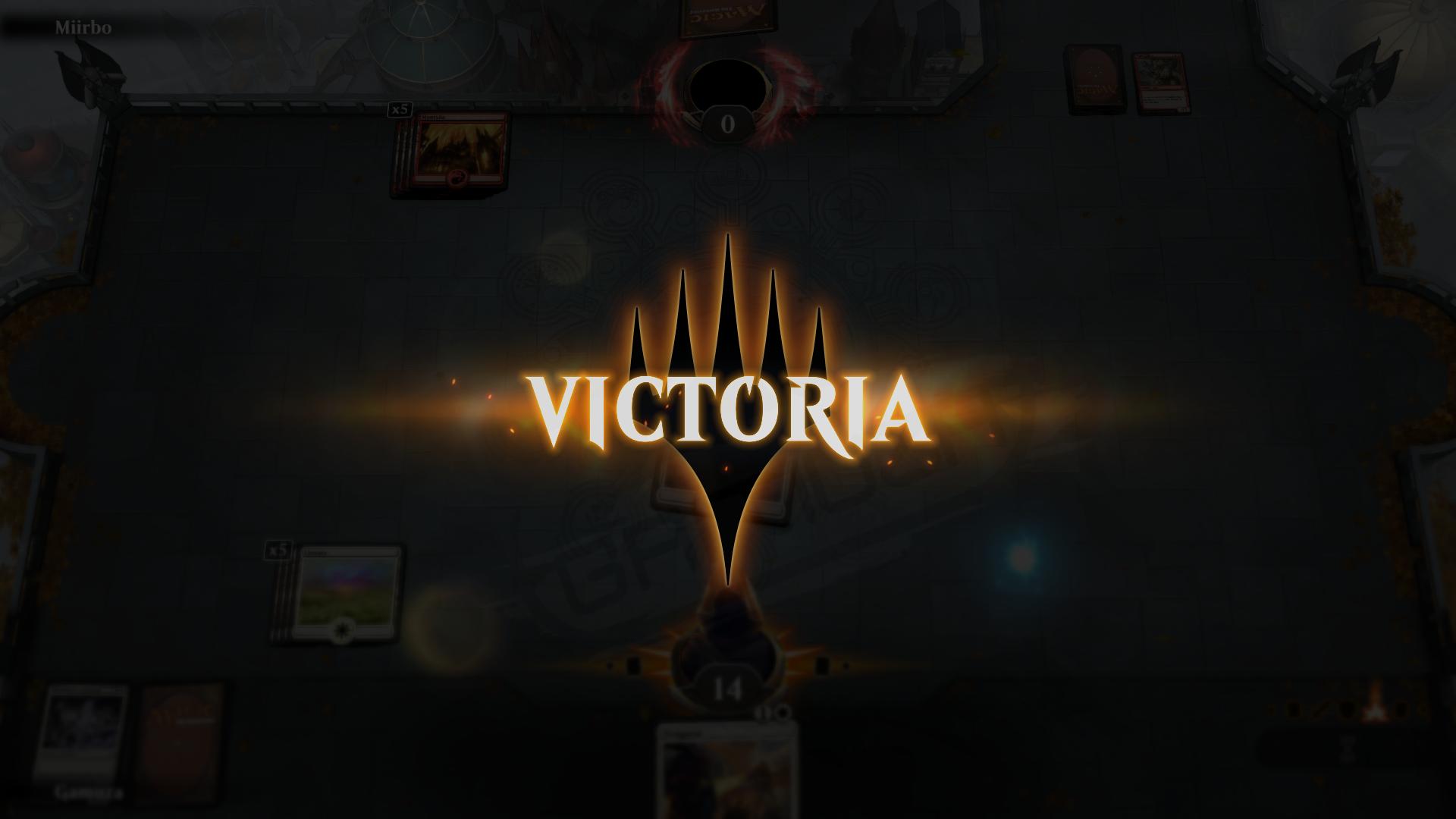Victoria - Captura Magic the Gathering: Arena