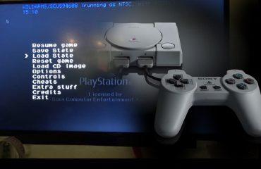 PlayStation Classic tiene un menú oculto con más opciones de emulación