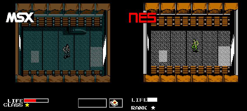 metal gear para NES