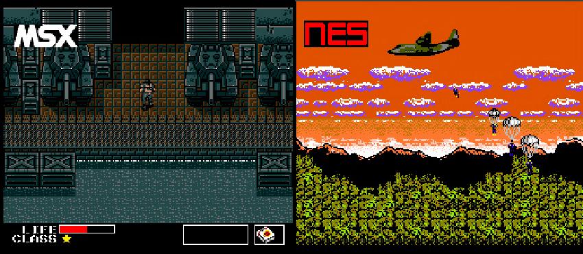 metal gear para NES 3
