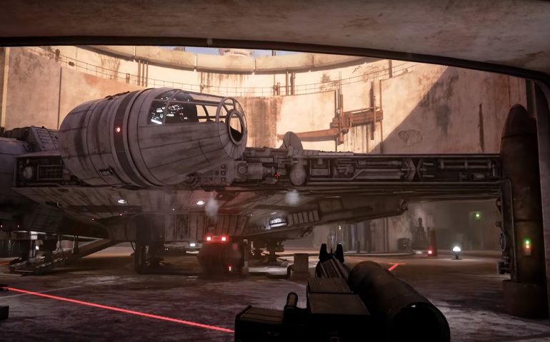 Mos Eisley en Unreal Engine 4