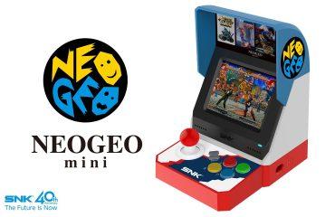 SNK anuncia NEO-GEO mini, la micro-recreativa con pantalla de 3,5 pulgadas