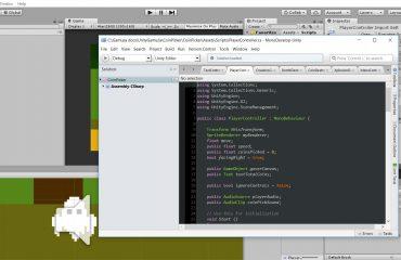 Iniciación al desarrollo de videojuegos: Comenzando a programar