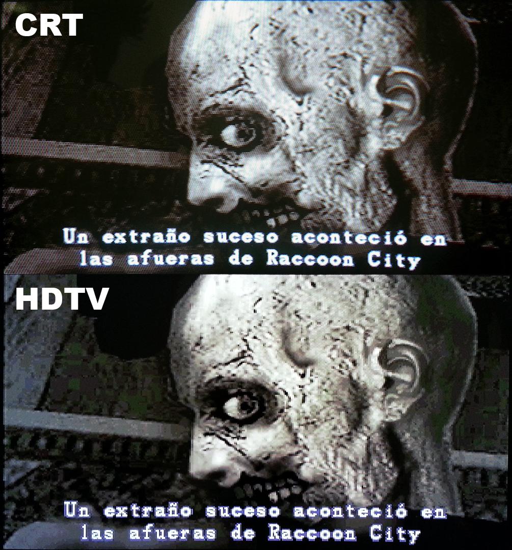 crt resident evil 2 1