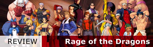 review rage of the dragon