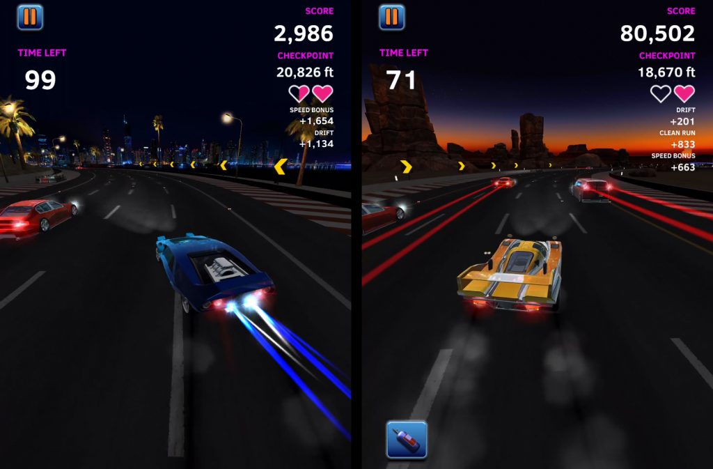 Night Driver movil