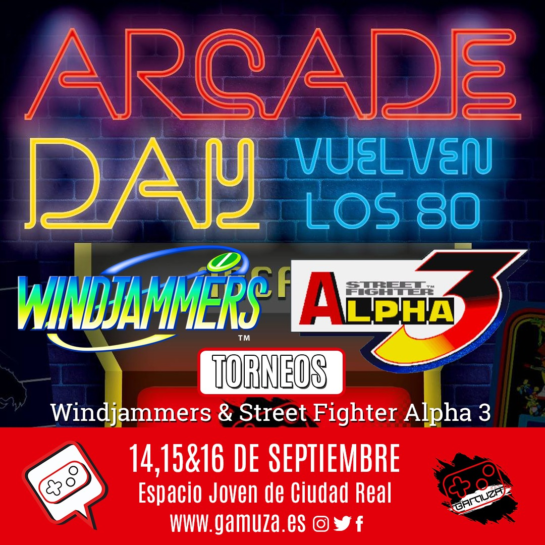 Torneos Arcade Day