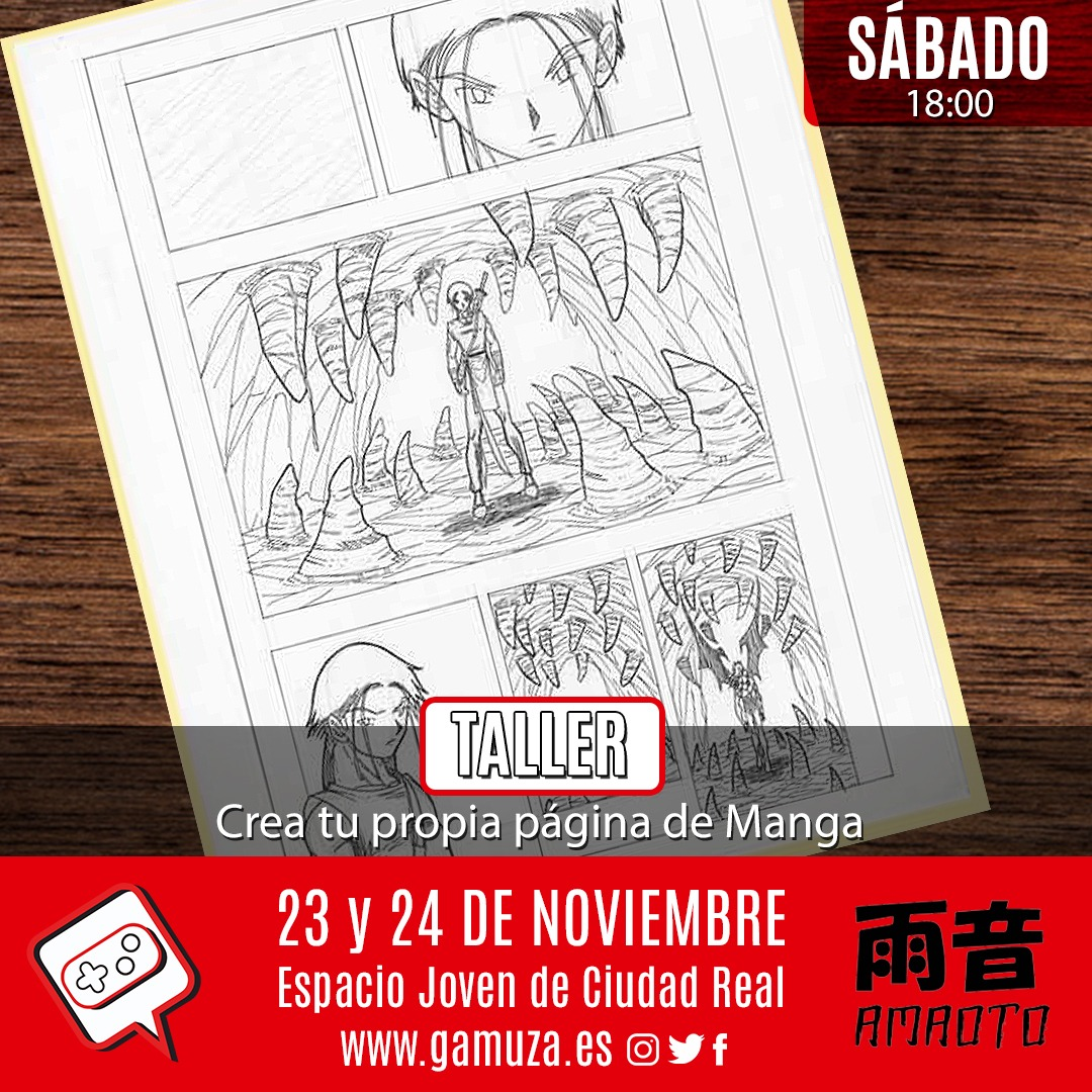 Crea tu página de Manga