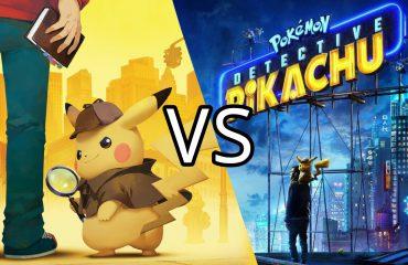 Comparativa Detective Pikachu: Juego vs Película