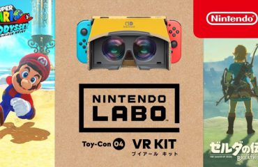 Mario Odyssey y TLoZ: Breath of the Wild llegan a VR