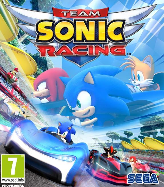 Lanzamiento: Team Sonic Racing