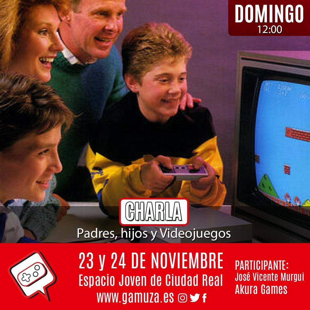 Padres, hijos y videojuegos