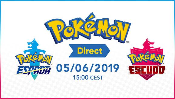 Novedades del Pokémon Direct del 05/06/19