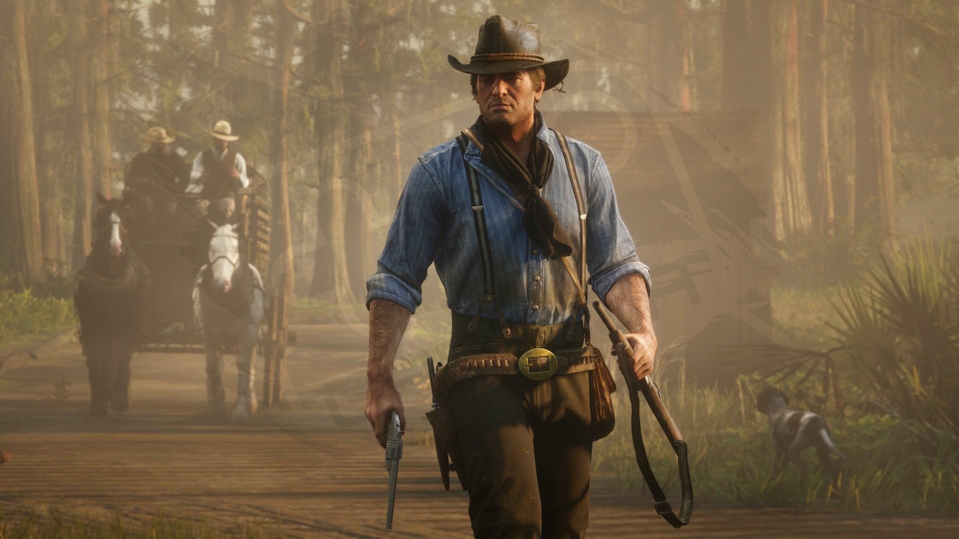 Una captura de Red Dead Redemption II
