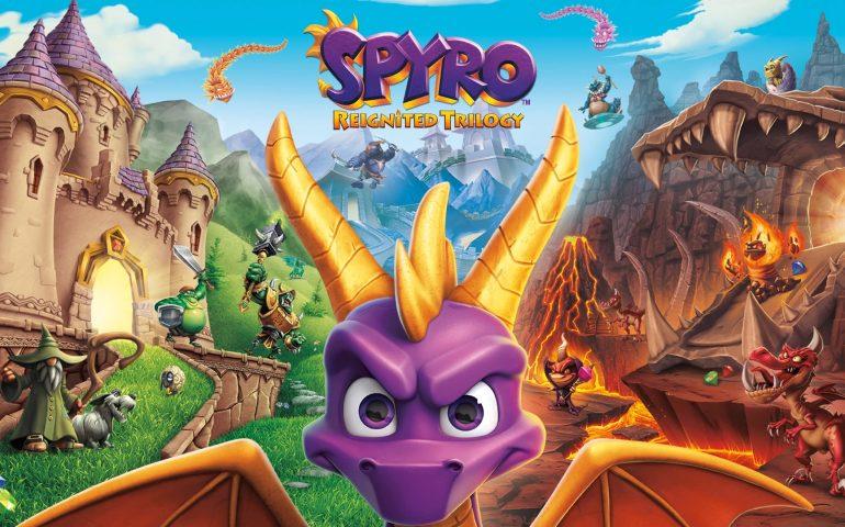 Portada Spyro Reignited Trilogy