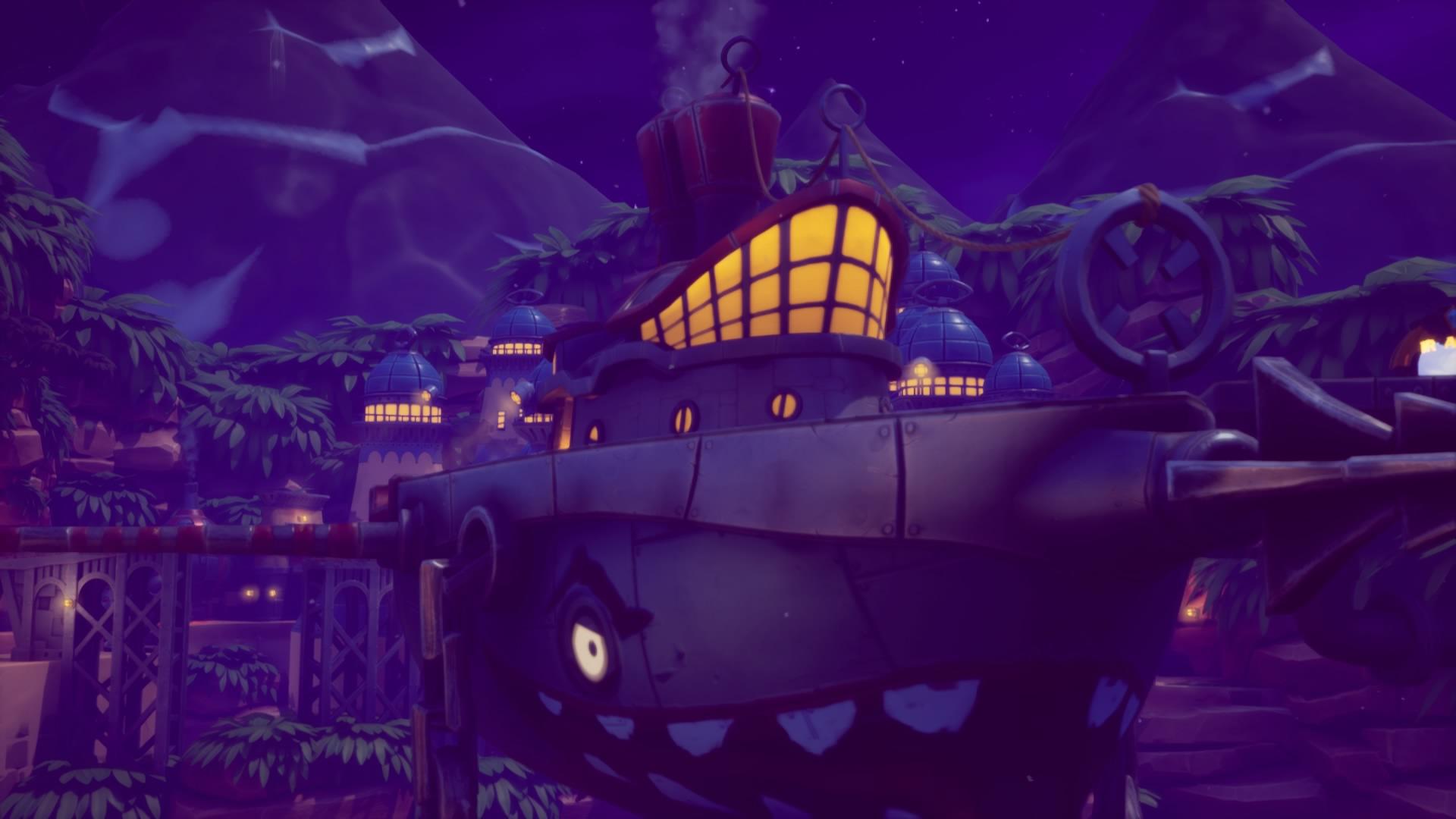 """Puerto de Brisa - Juego: """"Spyro 2: En busca de los talismanes"""" de Reignited Trilogy"""