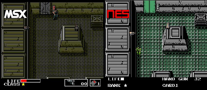 metal gear para NES 2