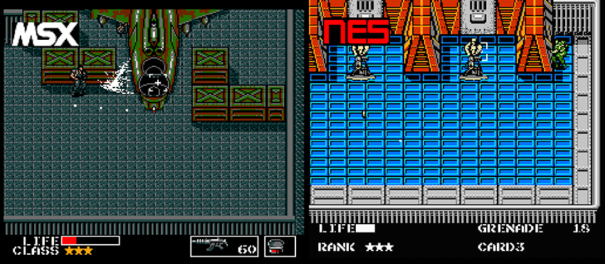 metal gear para NES 4