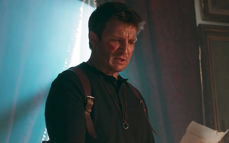 Uncharted con Nathan Fillion