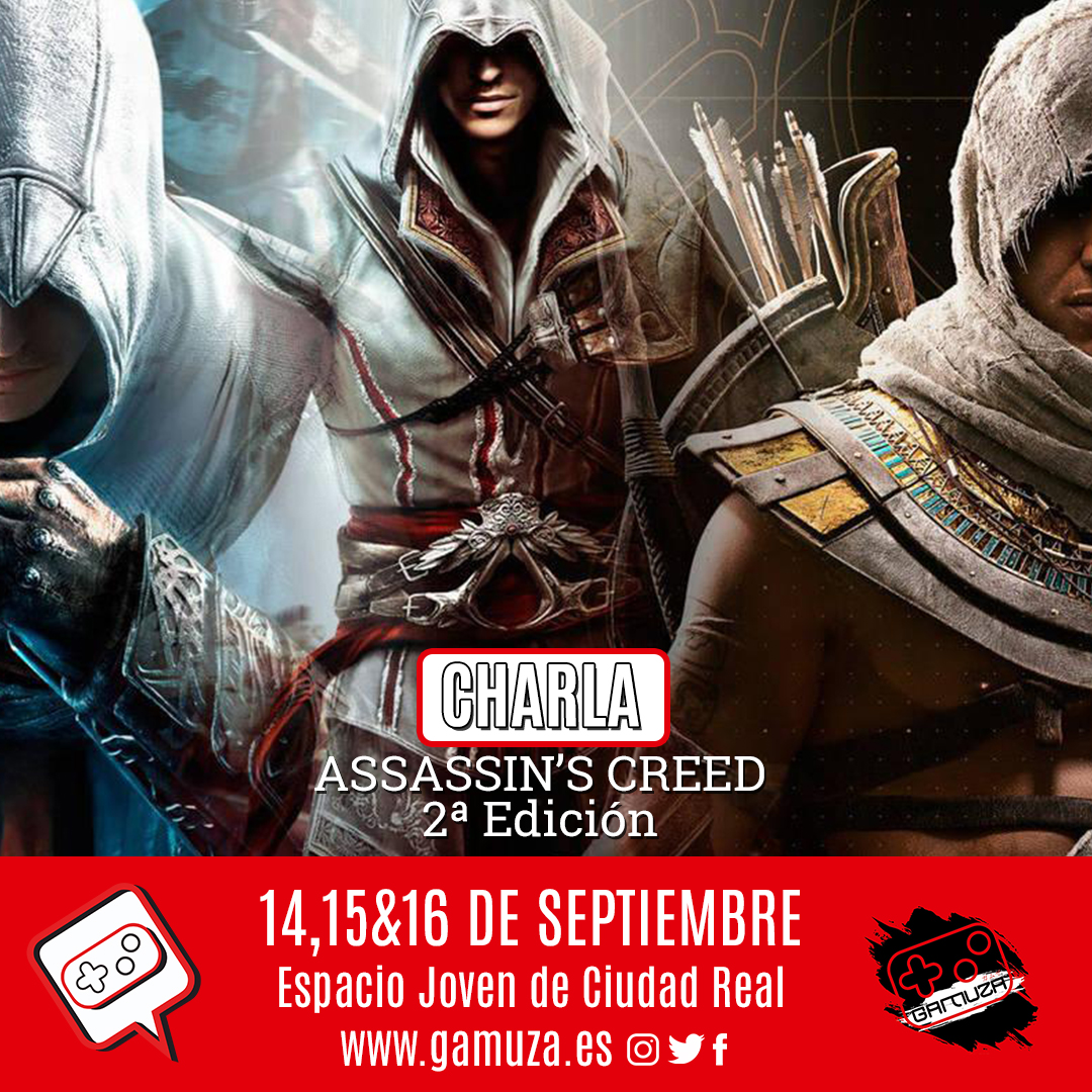 charla assasin creed