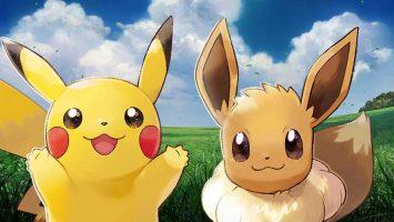 Pikachu e Eevee - Pokémon Let's Go