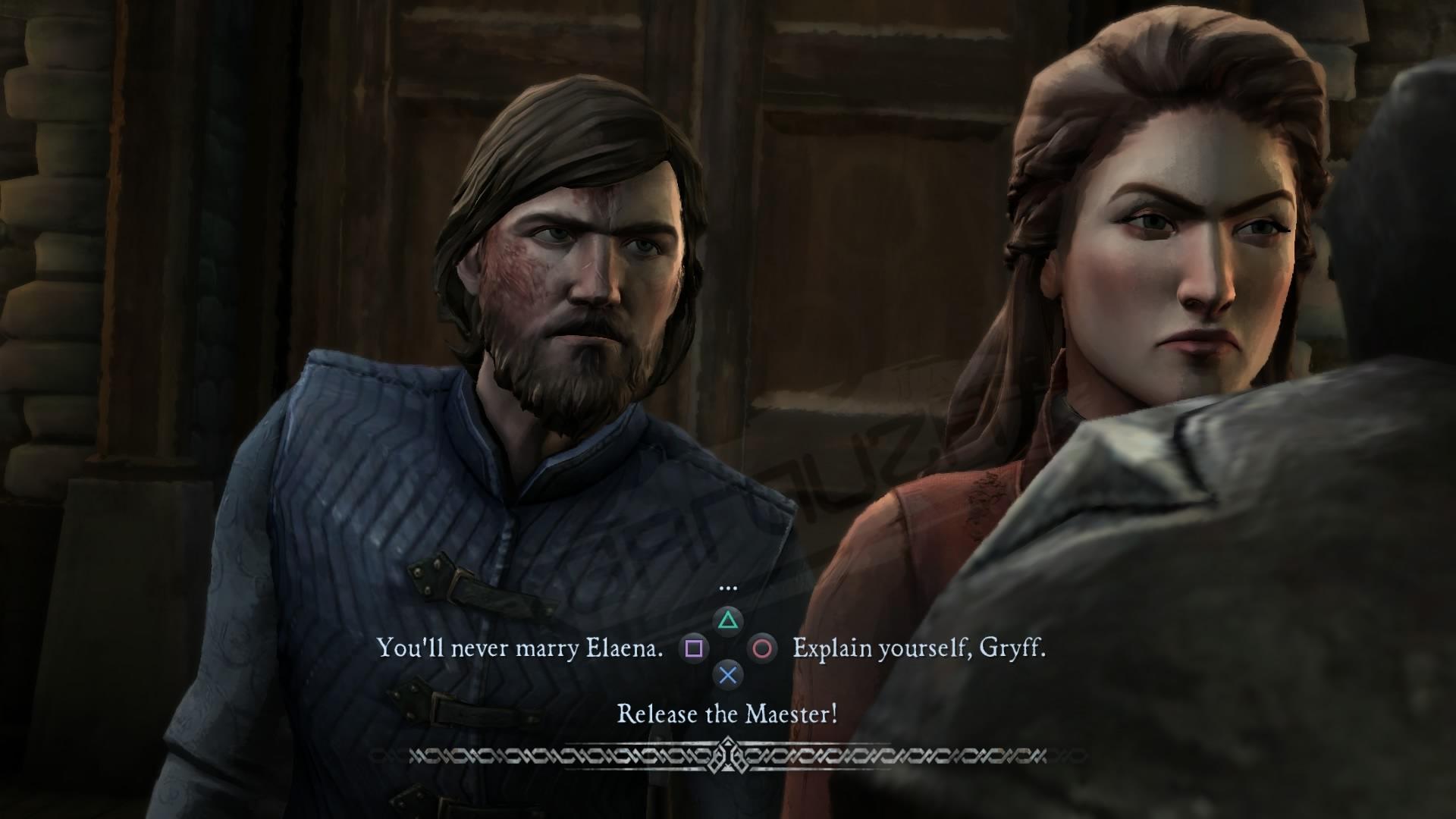 Elección en Game of Thrones - TellTalle Games