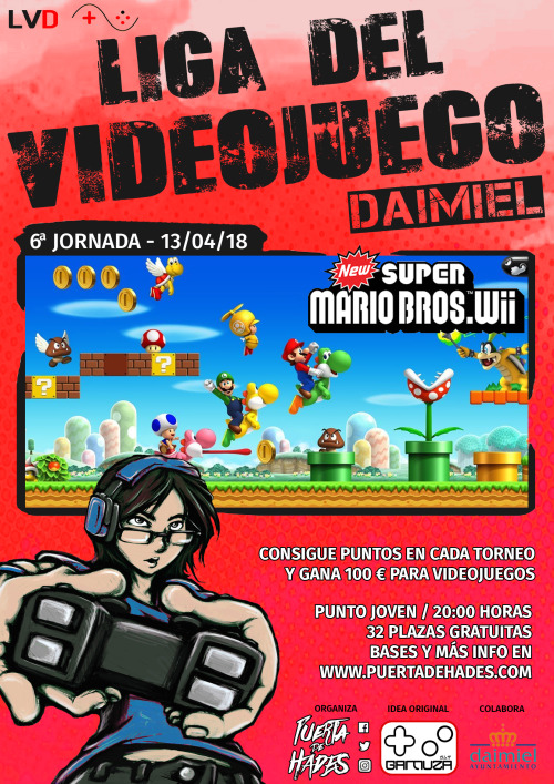 liga de videojuegos Daimiel 13/4/2018